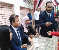 التعديلات الدستورية 2019| «مستقبل وطن» يساعد الناخبين.. صور