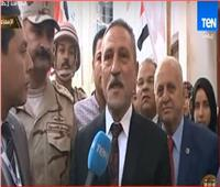فيديو| محافظ الإسماعيلية: إقبال كثيف على لجان الاستفتاء