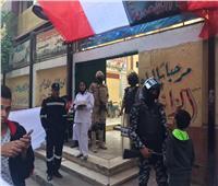 صور  الشرطة النسائية تؤمن مدارس باب الشعرية