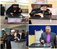 التعديلات الدستورية 2019| مصر في صورة.. لجان الاستفتاء تجمع «الهلال مع الصليب»