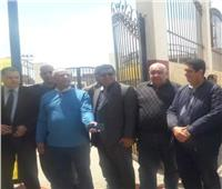 وفود مستقبل وطن تتابع سير استفتاء الدستور في دمياط