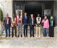 المنوفية تستقبل وفد مؤسسة «ماعت» للاطمئنان على سير الاستفتاء