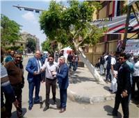 التعديلات الدستورية 2019  نائب محافظ القاهرة يتفقد لجان أحياء المنطقة الغربية