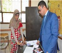 التعديلات الدستورية 2019  «أية» أول كفيفة تدلي بصوتها بطريقة «برايل» في المنيا