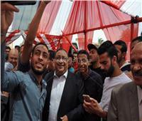 رئيس جامعة حلوان يدلي بصوته في الاستفتاء على الدستورية