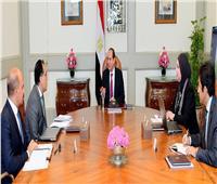 الرئيس السيسي يبحث مع مدبولي وجامع خطة جهاز المشروعات لتوفير فرص عمل