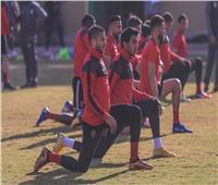 مران استشفائي للاعبي الأهلي المشاركين في مباراة بيراميدز
