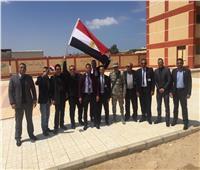 بالصور| العاملون بمطار طور سيناء يشاركون في الاستفتاء