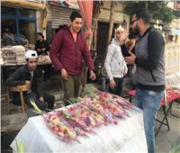 صور| سنابل القمح والسعف والورود.. أهم مظاهر الاحتفال بأحد «الشعانين»