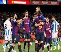 برشلونة يفوز على ريال سوسيداد ويقترب من حسم الليجا