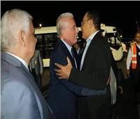 «فودة» يستقبل المشاركين بندوة «تحالف عاصفة الفكر العربي» بمطار شرم الشيخ