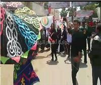 ناخبو «الهرم» يستقبلون ثاني أيام الاستفتاء بالطبل والمزمار البلدي