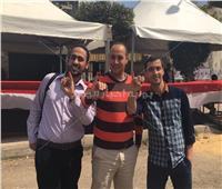 التعديلات الدستورية 2019| إقبال كثيف على لجان مصر الجديدة