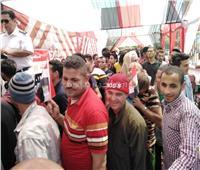 التعديلات الدستورية 2019| حلوان تفرح بشبابها في عرس الاستفتاء