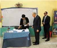 التعديلات الدستورية 2019| وزير العدل يدلي بصوته في الاستفتاء