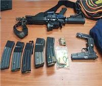 ضبط 139قطعة سلاح ناري و 122قضية مخدرات