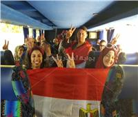 صور الجالية المصرية بهولندا تشارك في التعديلات الدستورية