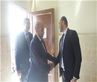 التعديلات الدستورية 2019  رئيس جامعة المنيا يدلي بصوته في الاستفتاء