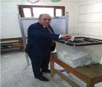 رئيس مجلس الدولة يدلي بصوته ببنها
