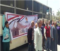 التعديلات الدستورية| إقبال كثيف من طلاب جامعة المنيا والعاملين للإدلاء بصوتهم