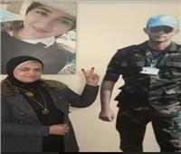 صور| والدة شهيد بالإسكندرية للمصريين: «شاركوا علشان حق أولادنا»