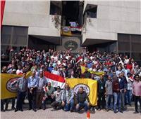 مسيرة ضخمة لـ«بدر الدين» للبترول لدعم التعديلات الدستورية بالبحيرة