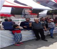 مسيرة حاشدة للعاملين بالشركة المصرية للصوامع