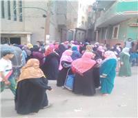 إقبال جماهيري حاشد بطحانوب للتصويت على التعديلات الدستورية