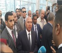 وزير النقل يتفقد محطة سيدي جابر في الإسكندرية