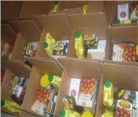 تزييف الإخوان «عرض مستمر».. حقيقة صورة توزيع الجيش «كراتين رمضان» بالاستفتاء