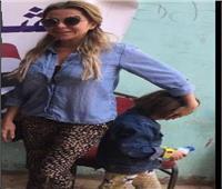 التعديلات الدستورية 2019  رزان مغربي تشارك المصريين احتفالهم بالاستفتاء
