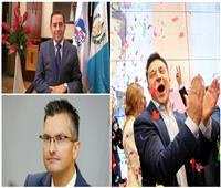 آخرهم زيلينسكي..«نجوم كوميديون» في مواقع السلطة في بلادهم