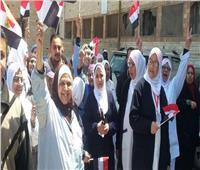 التعديلات الدستورية 2019  صحة الإسكندرية تشارك في الاستفتاء