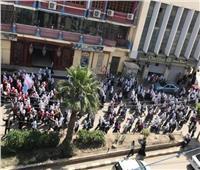 التعديلات الدستورية 2019  طالبات كفر الشيخ في مسيرة للحث على المشاركة في الاستفتاء