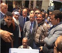 التعديلات الدستورية 2019  وزير التنمية المحلية ومحافظ القاهرة يتفقدان لجنة قصر الدوبارة