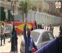 التعديلات الدستورية 2019| «تحيا مصر» هتاف مسن لتشجيع الناس على المشاركة في الاستفتاء