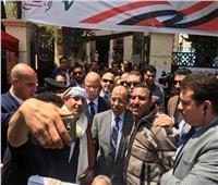 التعديلات الدستورية 2019  وزير التنمية المحلية ومحافظ القاهرة يتفقدان اللجان الانتخابية