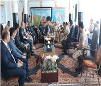 محافظ بورسعيد يشيد بدور رجال الجيش والشرطة في تأمين الاستفتاء