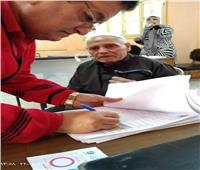 التعديلات الدستورية 2019| «مسن بإحدى لجان المرج»: لبيت نداء بلدي.. ومستقبل مصر أفضل