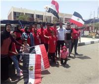 ذوى القدرات والهمم بجنوب سيناء يشاركون في استفتاء التعديلات الدستورية