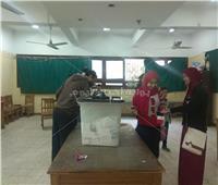 قبل ساعات قليلة من غلق اللجان اقبال متوسط بلجنة مدرسة التوفيقية بشبرا