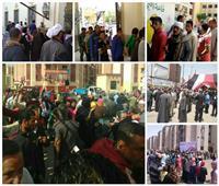 ثالث أيام الاستفتاء| «ملحمة الطوابير» مستمرة.. والشباب ينافس في التصويت «صور»