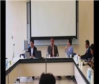 لأول مرة.. محاضر دولي مصري يترأس ملتقى بحثي بجامعة طوكيو عن الأمن العالمي