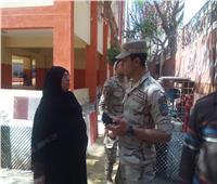 اقبال متزايد وتعاون من الجيش والشرطة لخدمة المواطنين بالهرم