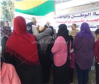 قبل غلق صناديق الاقتراع..إقبال متزايد من المواطنين على اللجان بالهرم