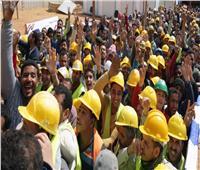 فيديو| عمال العاصمة الإدارية يصوتون على الاستفتاء