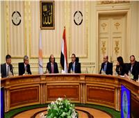 رئيس الوزراء يستقبل رئيس مجلس النواب القبرصي والوفد المرافق له