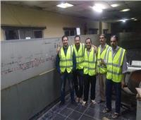 رئيس «السكك الحديدية» يعلن إصلاح برج إشارات بني سويف ودخوله التشغيل