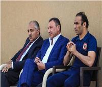 الأهلي يستعد لمواجهة المصري.. و«الخطيب» و«العامري» يؤازران الفريق