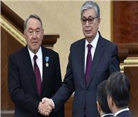 الرئيس الأول لكازاخستان يدعم توكاييف بانتخابات الرئاسة